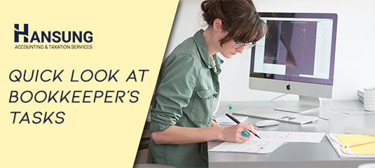 bookkeeper tasks